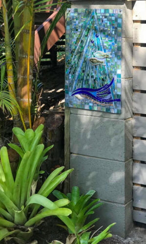 Under Water mosiac by Amayz Mosaics Sunshine Coast