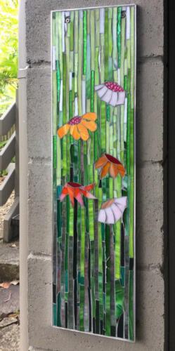garden art mosiac by Amayz Mosaics Sunshine Coast